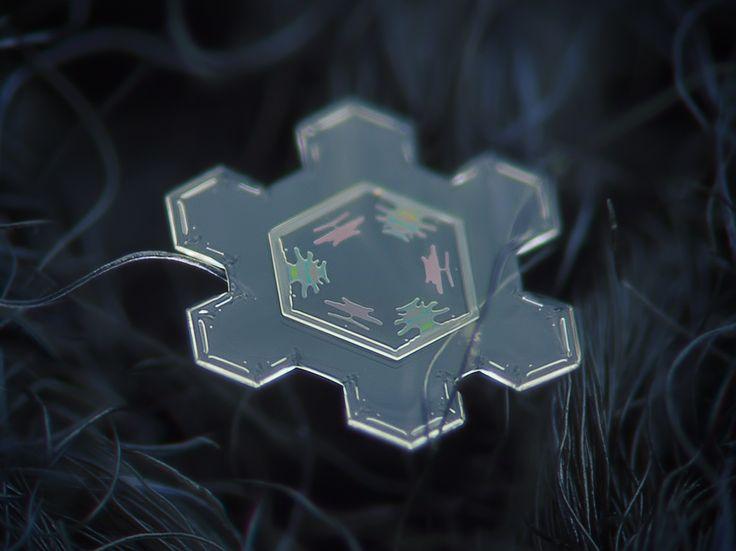 Alexey Kljatov takes amazing photographs of snowflakes. Infinite beautiful variation.