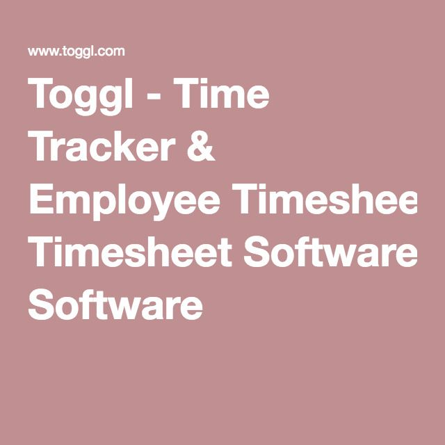 Best 25+ Timesheet software ideas on Pinterest Harvest timesheet - employee timesheet