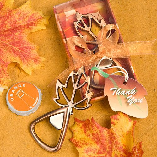 Fall Leaf Bottle Opener by Beau-coup