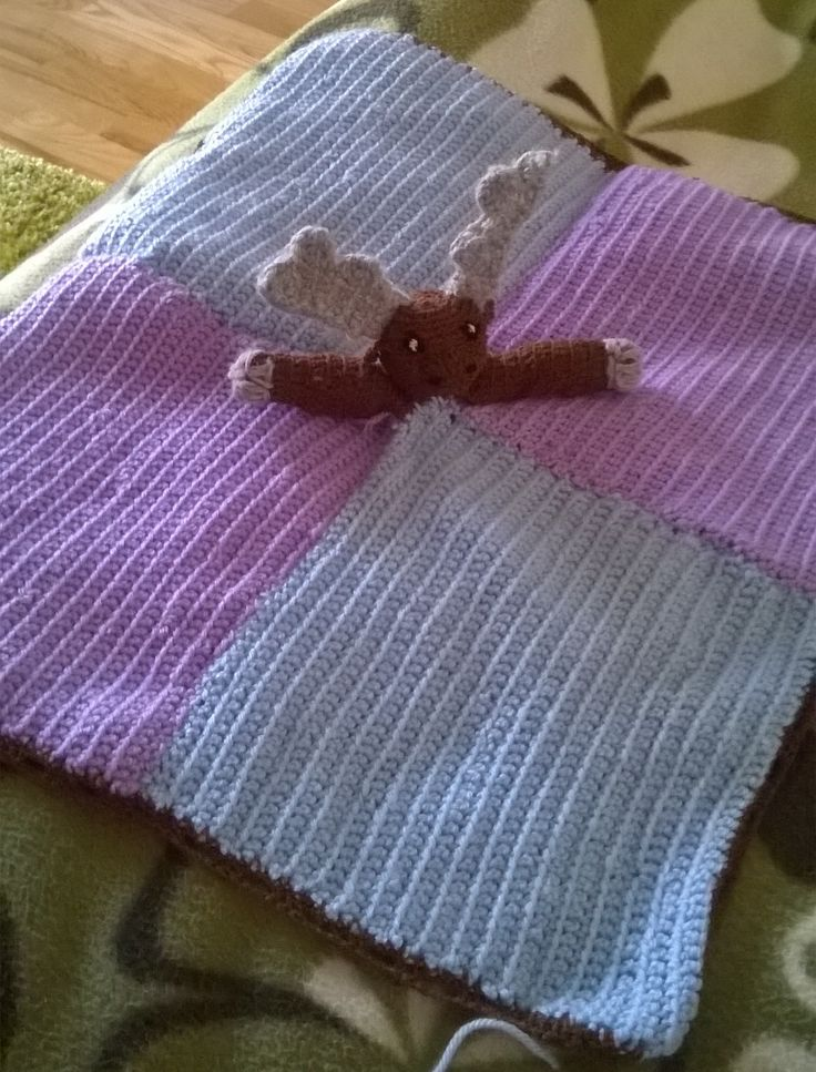 #lovey #baby #blanket #moose #gift