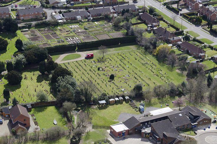 April 2016 - Aylsham in Norfolk - aerial images