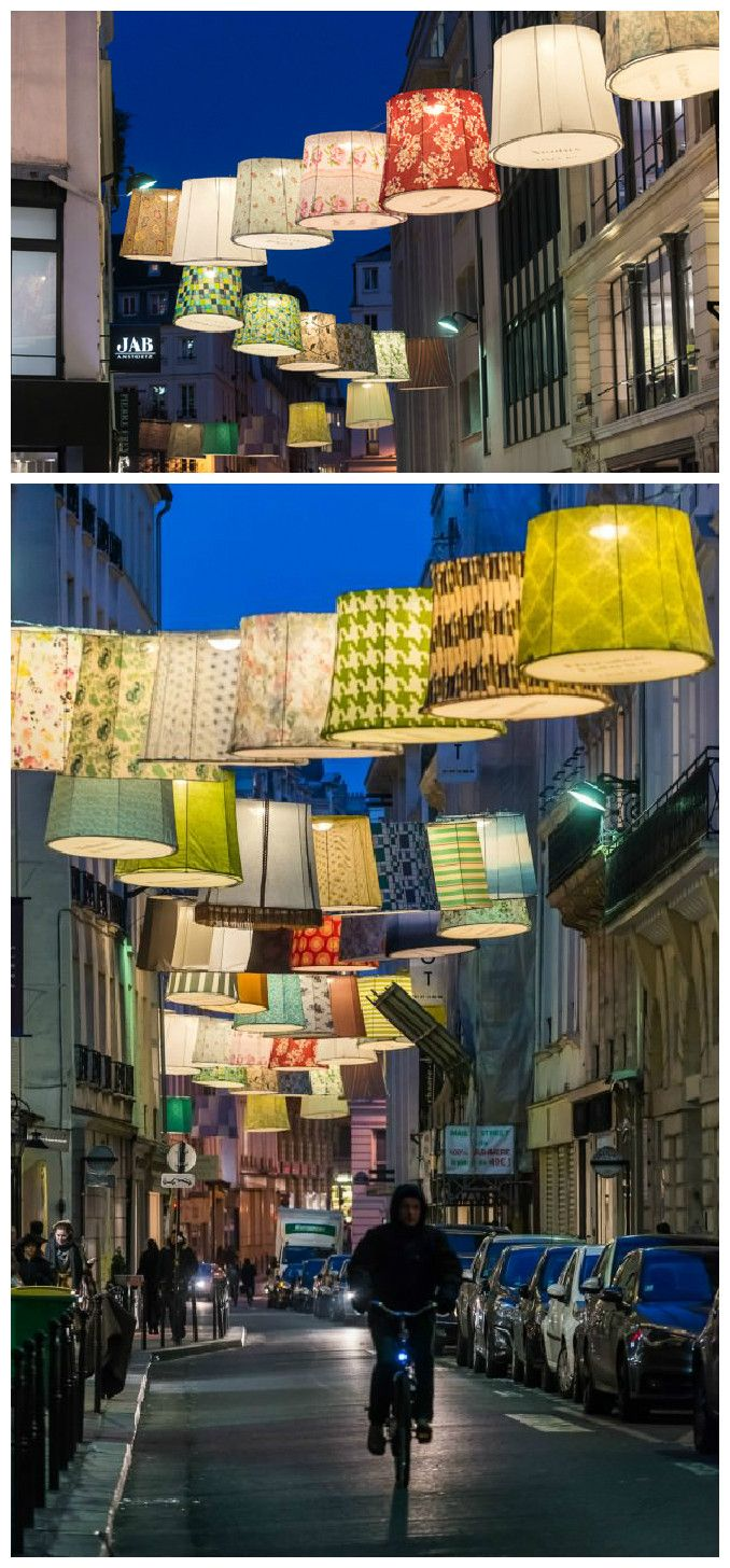#Lampshade, #Light, #StreetArt