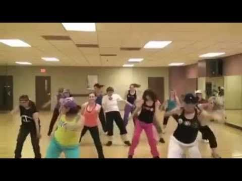 Oh my gosh this is so funny!! This would be my mom in Zumba class!! White Shirt! Crack me UP!