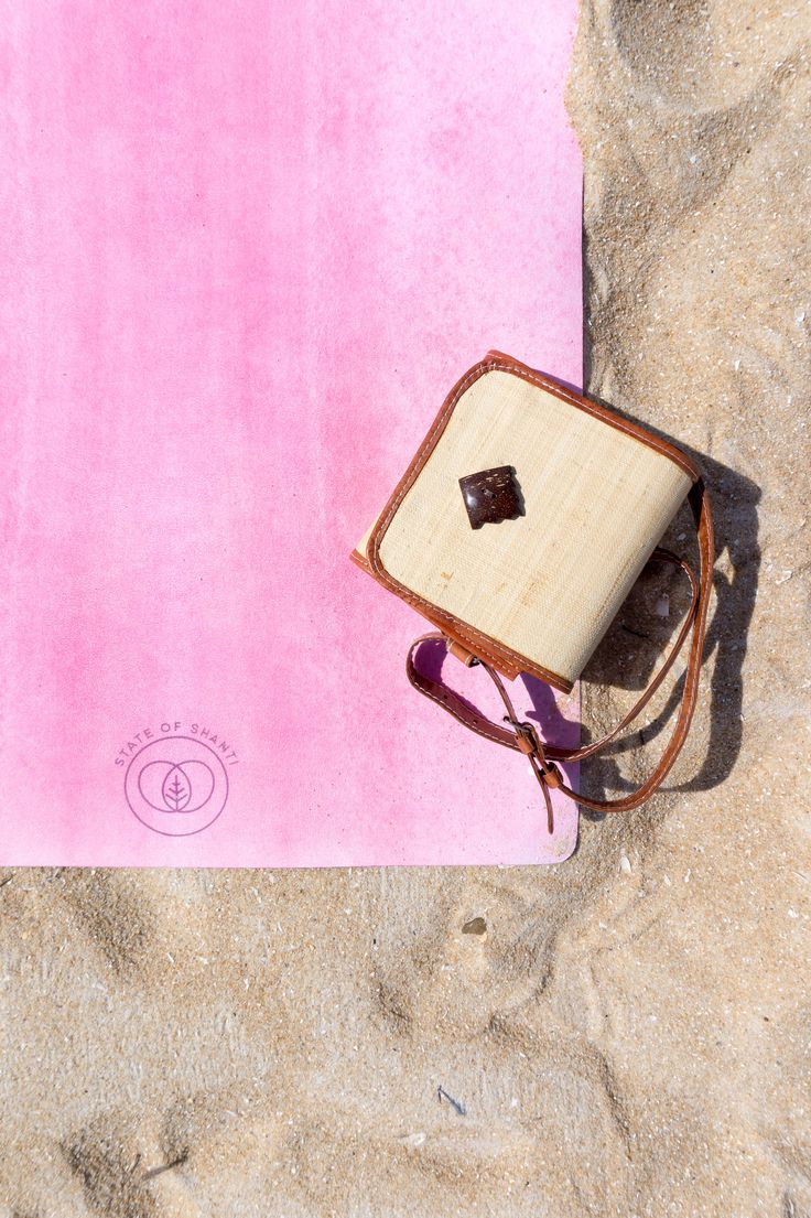 Home is where the mat is. The Ananda Yoga Mat in Pink