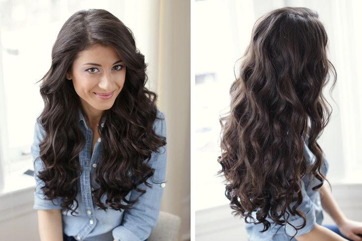 How To: Sexy Curls Hair Tutorial, via YouTube.