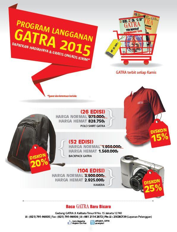 Desain Promosi: Program Langganan GATRA