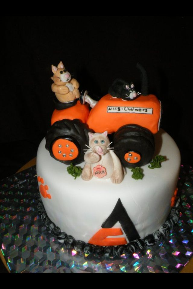 Birthday cake for a father & daughter Cake stuff Pinterest