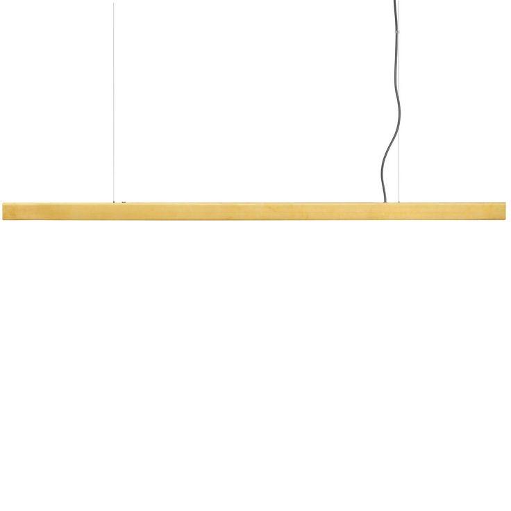 Anour Brushed Brass Pendant Lamp | MQ000054686 | £1,090.00