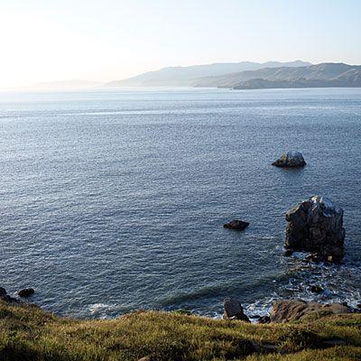 Land's End coastal trail, San Francisco, CA (Top View Hiking Trails)