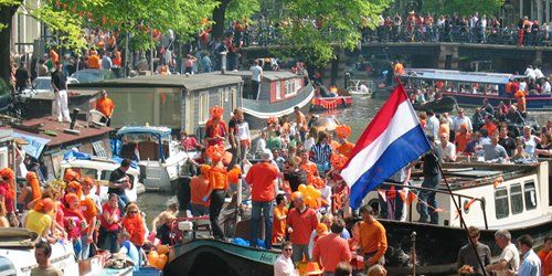 King's Day in Amsterdam - April 26th