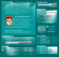 Version 5.1 of Moonkitty.NET which ran from the 11th of February 2002 to the 16th of August 2002! A very new look for the site brought about by the moonkitty profiles.
