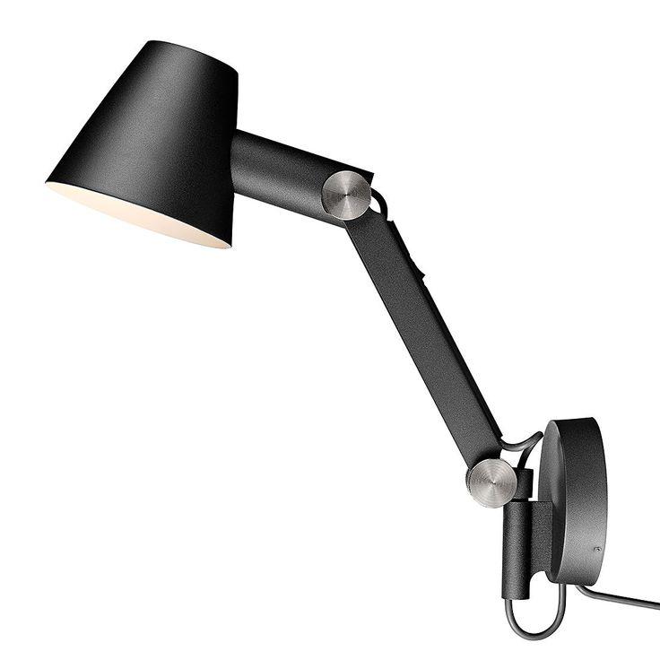 Wandlamp Cult - zwart metaal 1 lichtbron