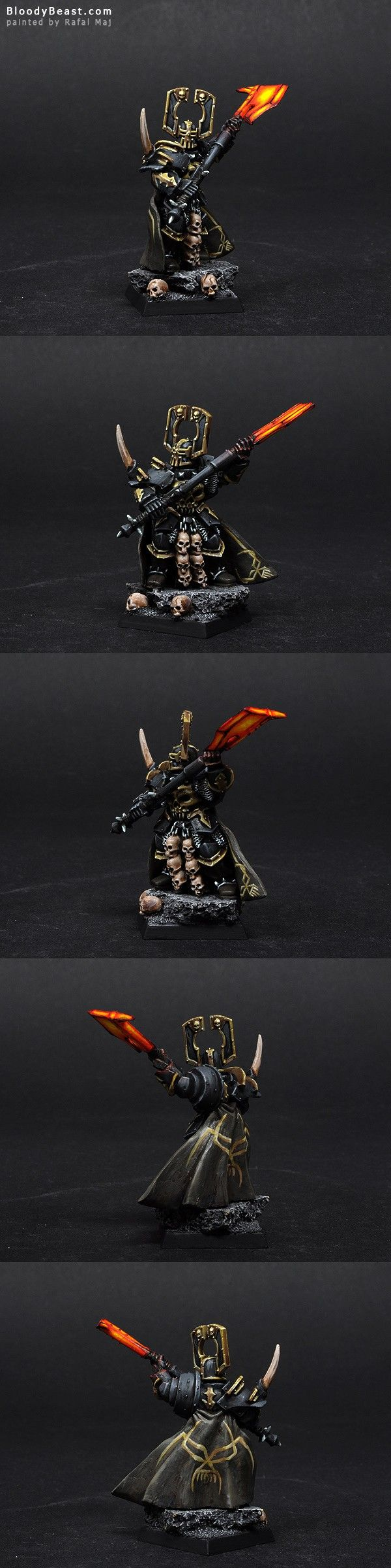Chaos Lord of Khorne   miniature for #Warhammer Fantasy Battles