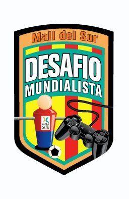 Logotipo para activad promocional del Mall del Sur