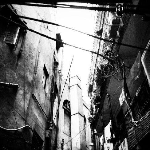 B&w lanes old delhi