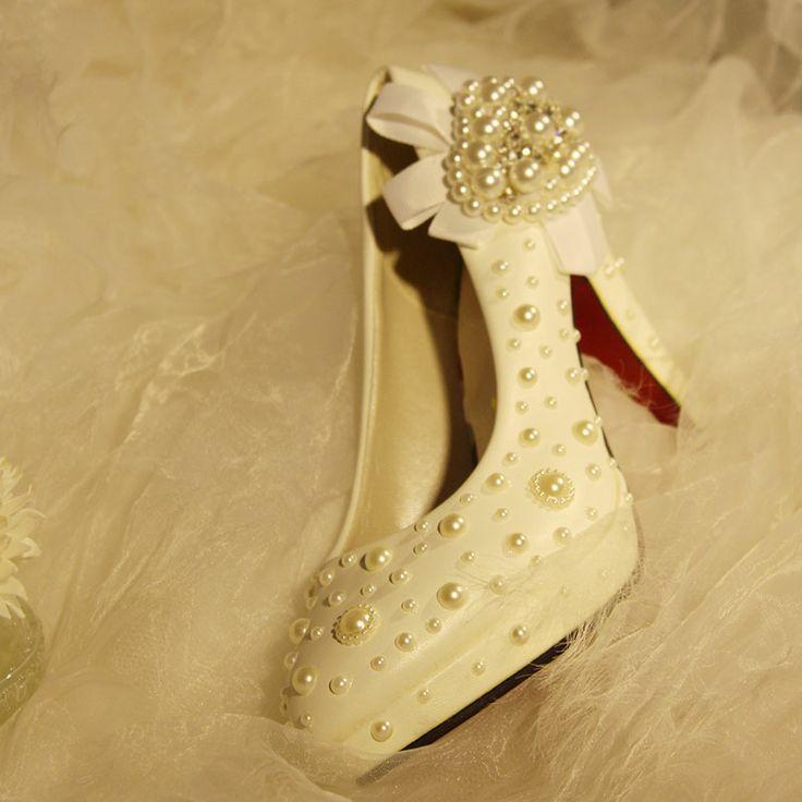 Single Heart Bride Shoe 44