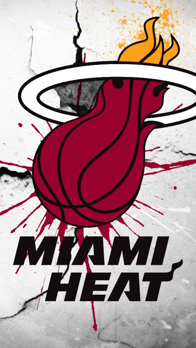 Miami Heat | iPhone Wallpaper