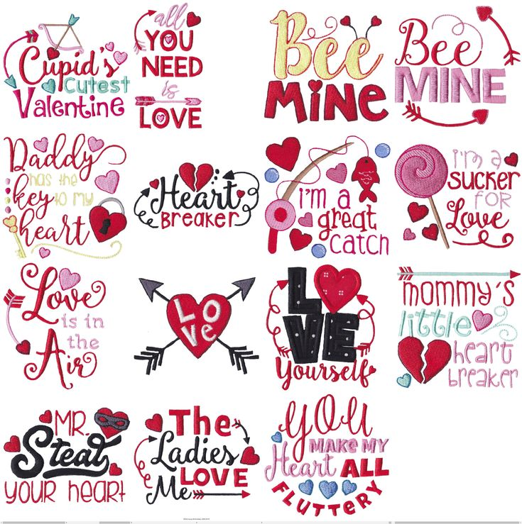 Baby S First Valentine S Day Quotes: 431 Best Bunnycup Embroidery Designs Images On Pinterest