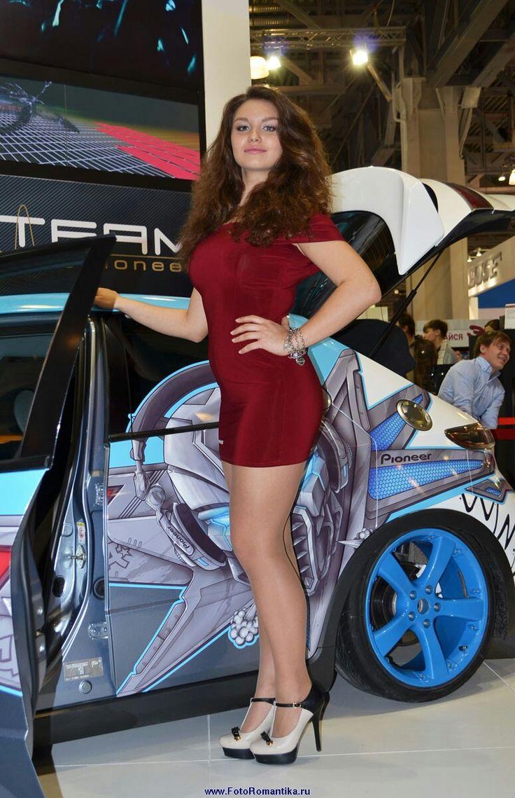 305 best hotesses car show images on Pinterest | Legs ...