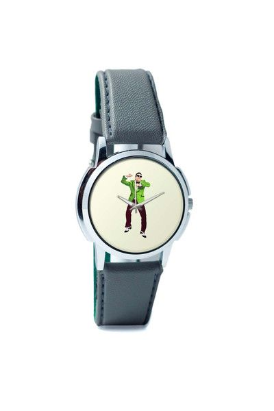 Wrist Watches India   Psy   Gangnam Style Graphic Illustration Wrist Watch Online India.