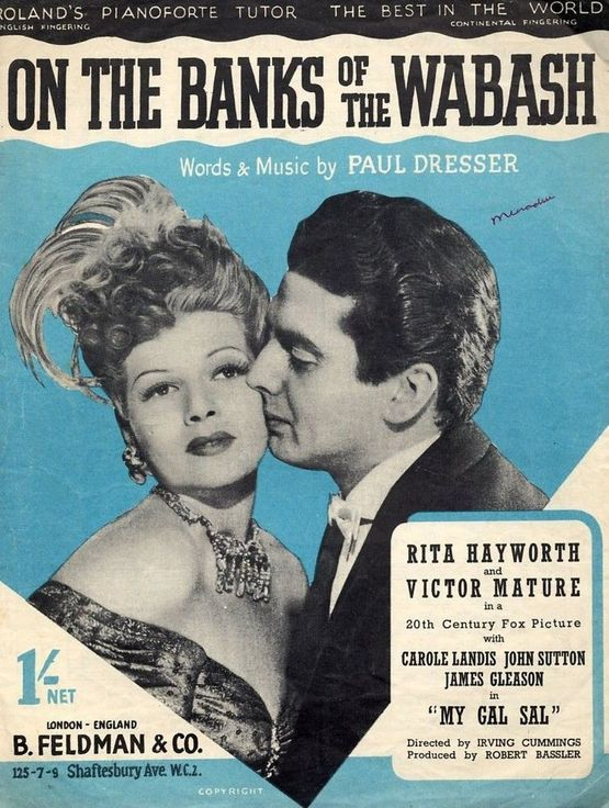 4 | On the banks of the Wabash - As performed by Rita Hayworth, Victor Mature