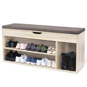 die besten 25 schuhregal mit sitzbank ideen auf pinterest bank mit schuhaufbewahrung. Black Bedroom Furniture Sets. Home Design Ideas