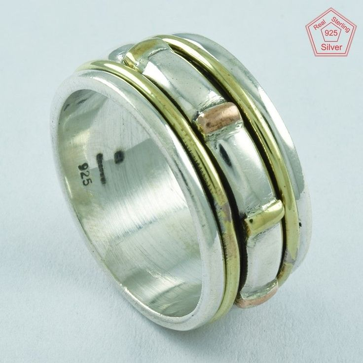 EXCLUSIVE DESIGN 925 STERLING SILVER SPINNER RING,R5004 #SilvexImagesIndiaPvtLtd #Spinner #AllOccasions