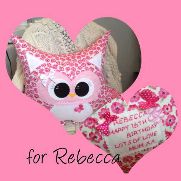 .  personalised Hoot :) ... With her special Message