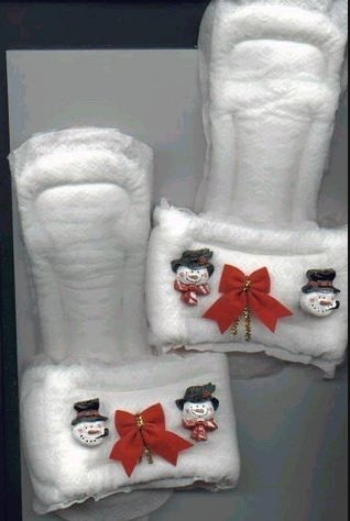 - - Maxi-pad Slippers Gag Gift Idea | Homemade Novelty Gag Gifts