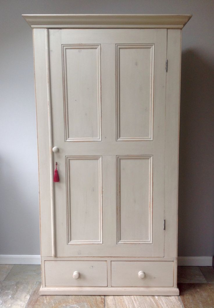 *NOW SOLD* Country Rustic Large Antique Victorian Solid Pine Hand Painted  Grey Wardrobe Larder - 96 Best Clyne & Co. Vintage & Antique Furniture Images On Pinterest