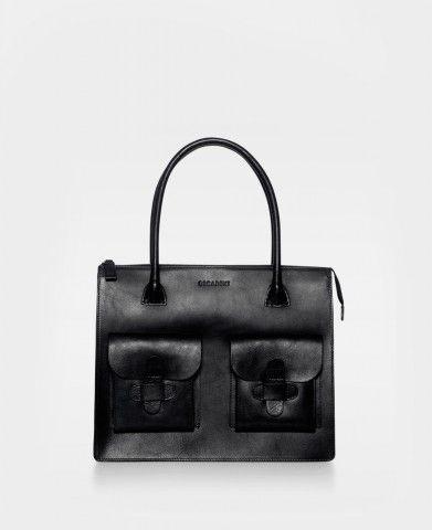 DECADENT Working bag two pocket black
