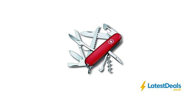 Victorinox Huntsman Swiss Army Pocket Knife Free Delivery, £22.02 at Amazon UK
