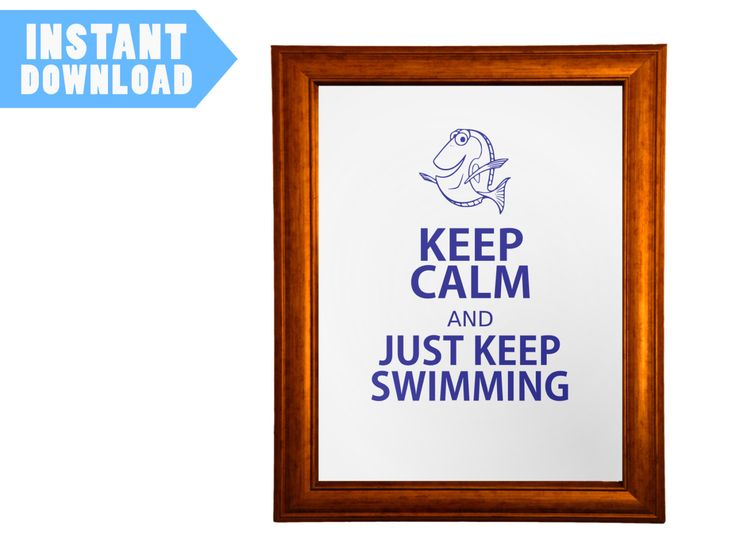Keep Calm Finding Nemo printable picture - INSTANT DOWNLOAD - Keep Calm Meme Parody by KeepCalmEtsyShop on Etsy https://www.etsy.com/listing/233477024/keep-calm-finding-nemo-printable-picture