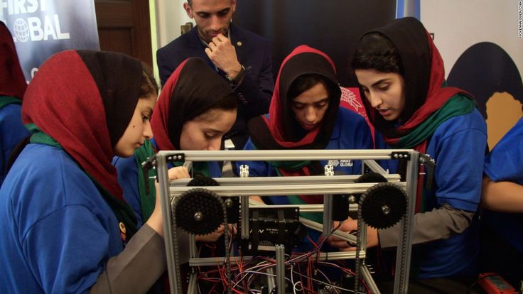 Today's Afghanistan goes far beyond the narrative of war and despair, as evidenced by the all-girl Afghan robotics team that won the world's attention, Gayle Tzemach Lemmon says.