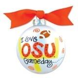 Go Pokes! OSU Game Day Ornament