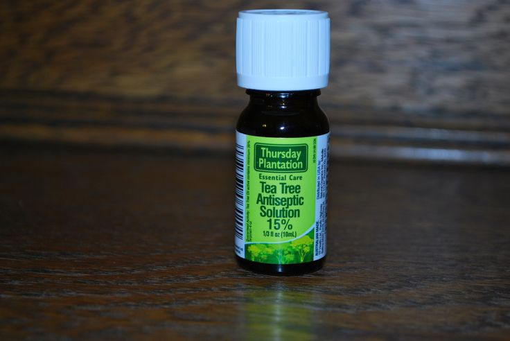 Tea Tree Antiseptic Solution - Natural Wart Removal by StacyMakesCents