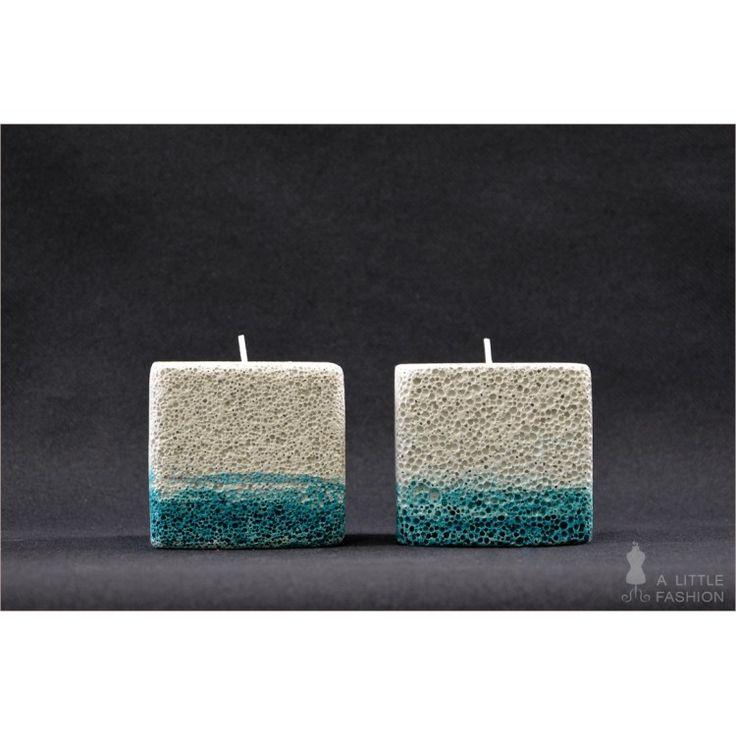 Kerzenhalter Aus Porenbeton Ytong Aqua 2er Set