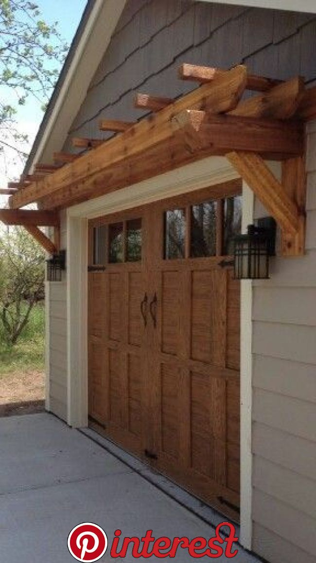 Curb Appeal On A Dime Save Money While You Update Your Home S Outdoor Appearance By Putting Your Dolla Garage Door Design Garage Door Colors Garage Door Trim
