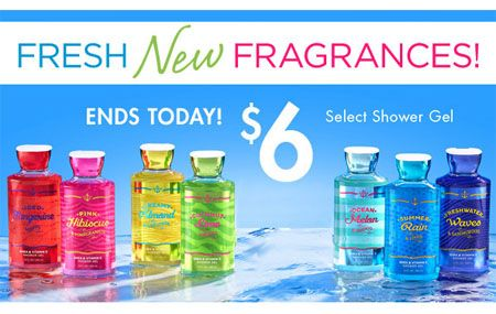 At Bath and Body Works at Bassett Place, El Paso, Texas!