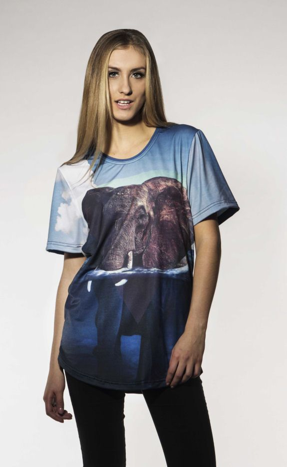 Elephant T-shirt by Brain Wash Clothing
