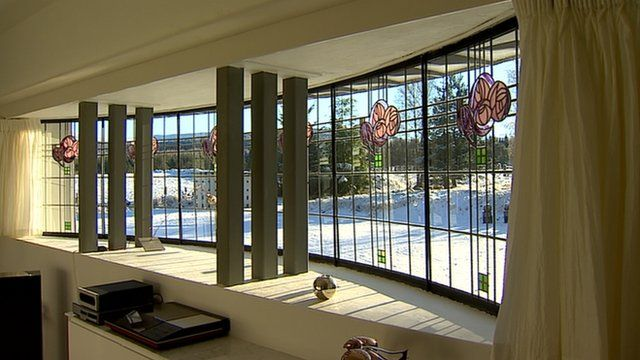 BBC News - The Highlands' Charles Rennie Mackintosh house