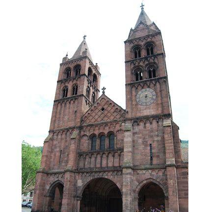 GUEBWILLER : Église Saint-Léger