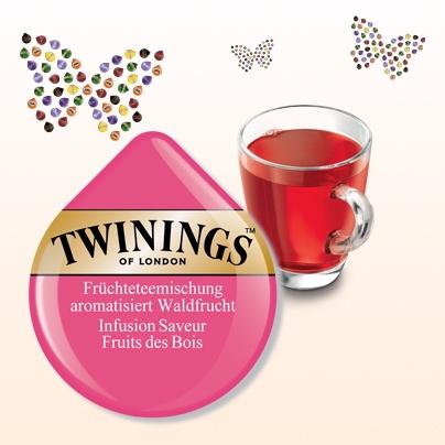 Twinings Infusion Saveur Fruits des Bois  #Tassimo #TDISC #Twinings #infusion #saveur #fruits #bois #tea