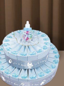 Baby Shower Party Favors -- It's A Boy Favor Cake