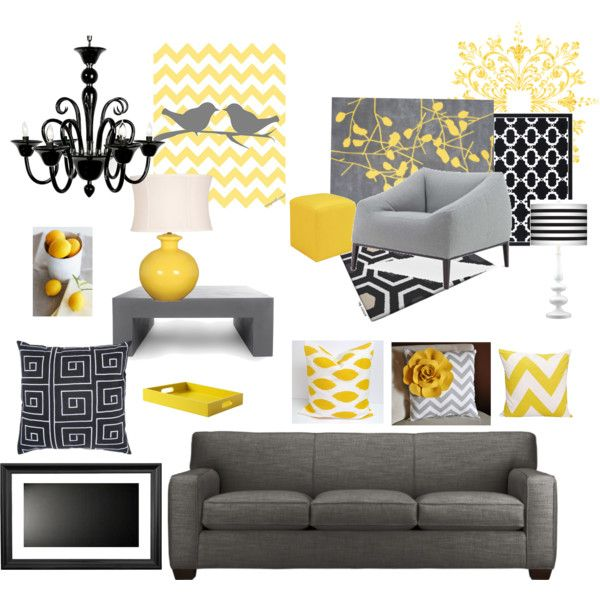 Yellow And Grey Chevron Lovin It