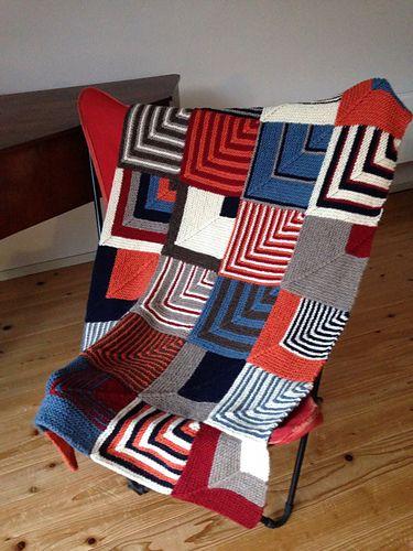 Ravelry: lykkeTAK's Domino Blanket