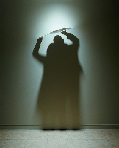 stunning art created from the interplay of objects with light and shadow.