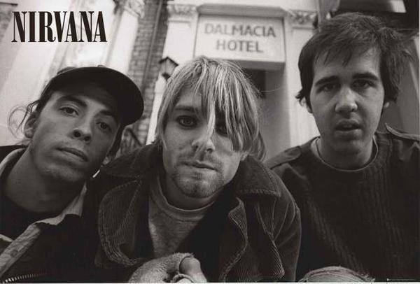 Nirvana Band Poster 24x36 – BananaRoad