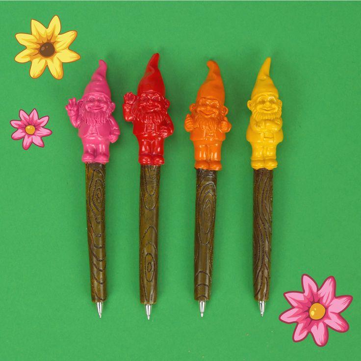 Veselá propiska Trpaslík ve stylu Pop Art  #propiska #papírnictví #trpaslík #gnome #stationery #giftideas