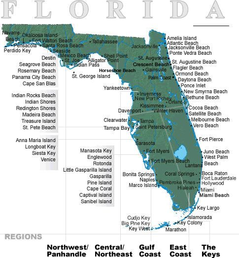 Best Florida Maps Ideas On Pinterest Map Of Florida Beaches - Show map of florida with cities